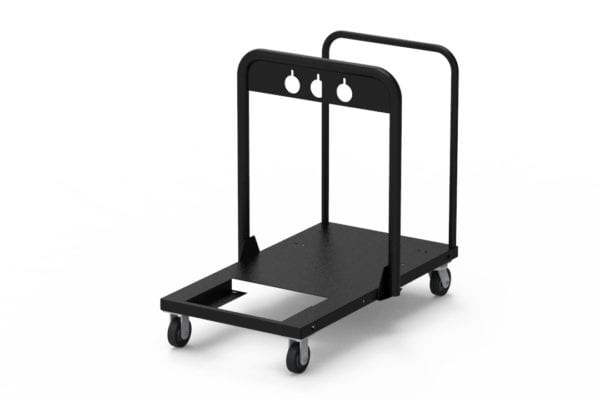 Black-Jack Hydro-Ace Manual Push Cart with Lift Bar Grout Pumps Mortar Pumps