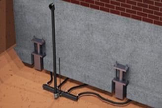 Grout Pumps Mortar Pumps Pier Foundation Four Port Diffuser