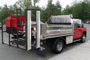 Black-Jack Truck-Mounted Rack Grout Pumps Mortar Pumps