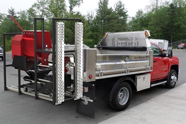 Black-Jack Truck-Mounted Rack Grout Pumps Mortar Pumps